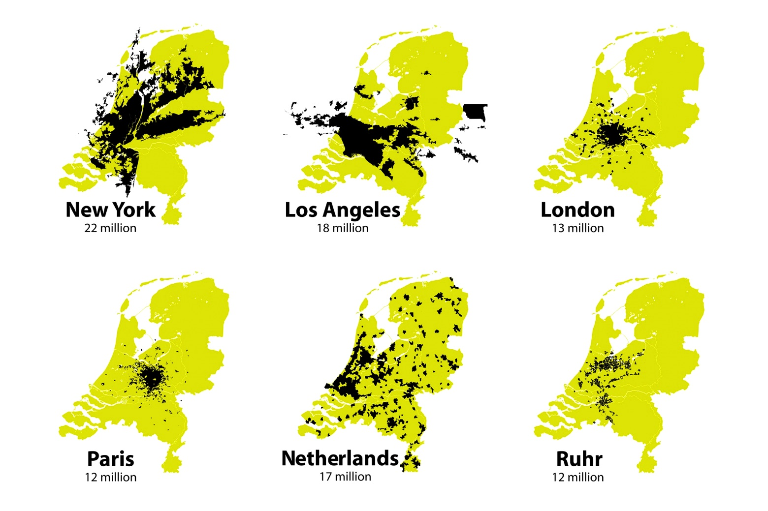 2a. Nederland geen vol land maar lege stad Zwarte Hond 2007 uitsnede